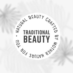 Greyscale Animated Natural Beauty Cosmetics Instagram Square Cosmetic