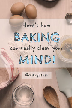 Blue and Grey Here's How Baking Clears Your Mind Pinterest Health Posters