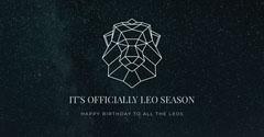 It's officially Leo season  Sky