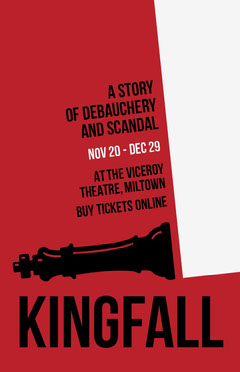 Red Chess King Theater Play Poster Play Poster