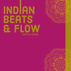 Pink and Gold Indian Music Album Cover Music