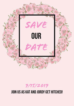 SAVE our DATE Weddings