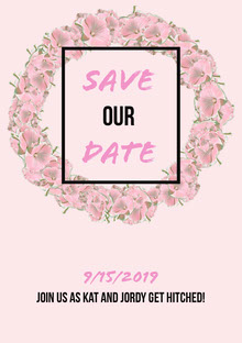 SAVE our DATE