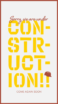 CON-<BR>STR-<BR>UCT-<BR>ION!! Construction