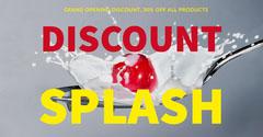 SPLASH Sale Flyer