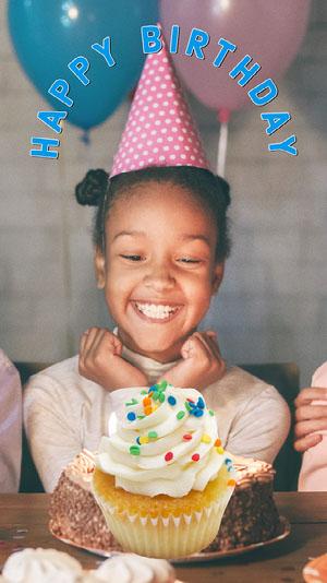 Simple Blue Birthday Snapchat Filter Birthday Filter for Snapchat
