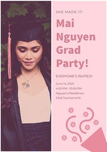 Mai<BR> Nguyen<BR>Grad <BR>Party!  Invito