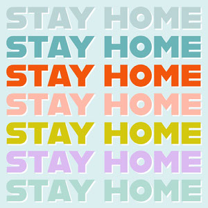 Stay Home Instagram Quote Resta a casa, vivi a casa