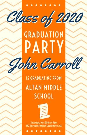 PARTY Tarjeta de graduación