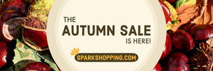 Autumn Store Sale Horizontal Ad Banner Ads Banner