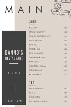 MAIN Restaurants