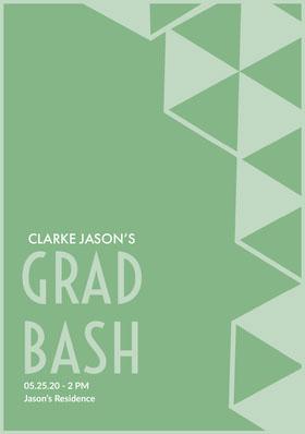 GRAD<BR>BASH Graduation Invitation