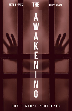 White and Brown Awakening Movie Poster Filmposter