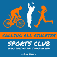 Calling All Athletes Folheto