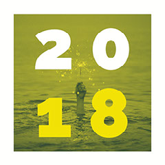 Green and Yellow Toned New Years Instagram Meme Graphic  Wave