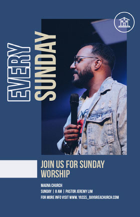 Every<BR>Sunday Flyer