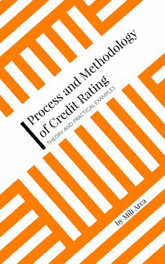 Orange and White Geometric Finance Kindle Cover Finance