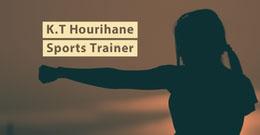 K.T Hourihane<BR>Sports Trainer LinkedIn バナー