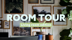 Living Room Tour Youtube Thumbnail  Music Tour
