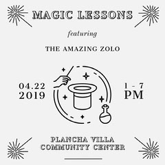 MAGIC LESSONS Shows
