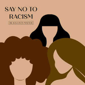say no to racism instagram  Black Lives Matter Collection