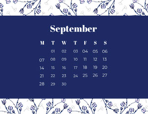 September Calendários