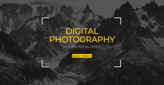 Digital Photography Facebook Ad Educational Course