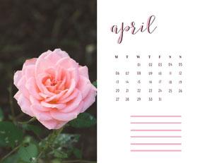 april Calendrier