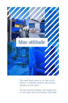 pinterest Blue
