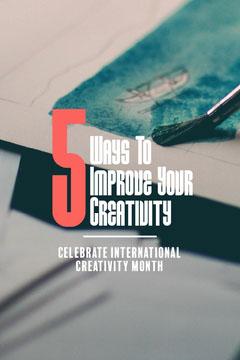 Grey Improve Creativity Pinterest Celebration