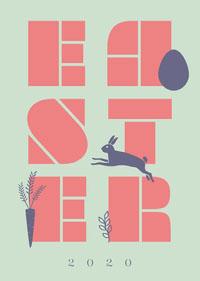 Easter 2020 Card Criador de cartões de Páscoa