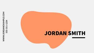 Jordan Smith Business Card Visitenkarte