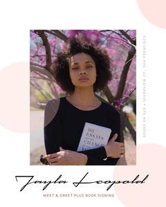 Light, Bright, White Framed Book Signing Event Instagram Portrait  Book Signing