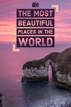 The most<BR>beautiful<BR>Places in the<BR>world Travel