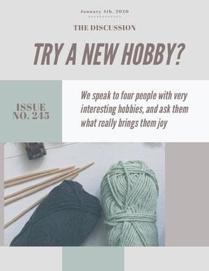 hobby newsletter Boletín