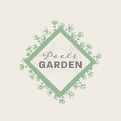 Cream & Green Floral Frame Florist Logo Frame