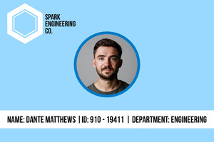 Spark Engineering ID Card Identiteitskaart