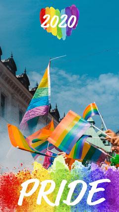 Rainbow Pride Parade 2020 Snapchat Filter Pride