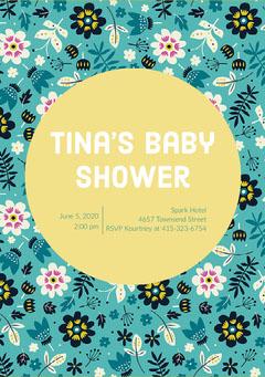 Tina's Baby Shower Boys