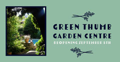 Green Photo Garden Center Ad Facebook Post Garden
