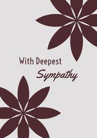 Sympathy  Carte de condoléances