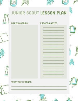 Junior Scout Lesson Plan