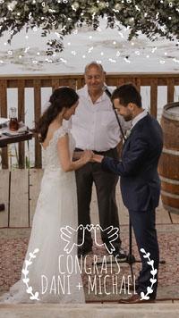 Light Toned Wedding Congratulations Instagram Story Congratulations Messages