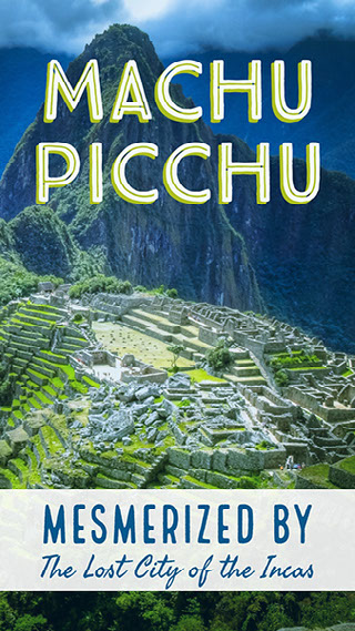 Machu Picchu Snapchat-suodatin