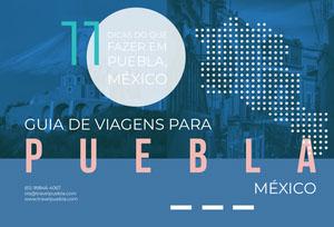things to do in Puebla Mexico travel brochures  Folheto dobrável