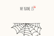 Spooky Costume Party Halloween Name Tag Halloween Party