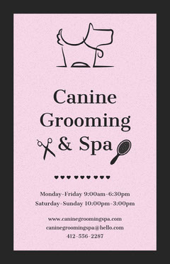 Canine Grooming & Spa Dog