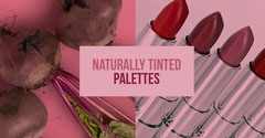 Pink and Red Naturally Tinted Palettes Promotion Makeup