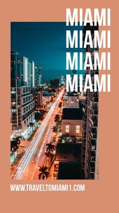 Miami Instagram story  City