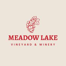 Red & Cream Vineyard Logo Logo